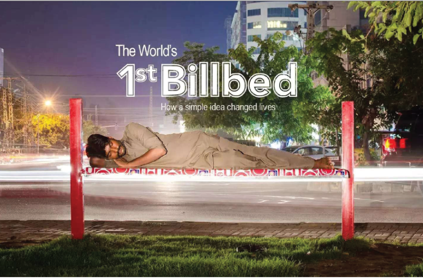World's first 'BillBed'
