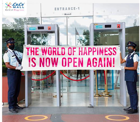 THE WORLD OF HAPPINESS  IS NOW OPEN AGAIN -LULU MALL
