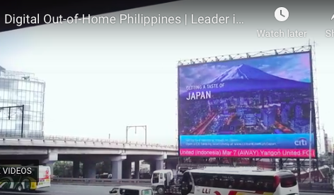 Digital Out-of-Home Philippines | Leader in Digital Outdoor Advertising