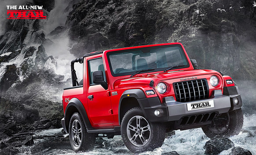 Mahindra Unveils The All-New Thar: The 4×4 Icon Is Now A Contemporary, World-Class SUV