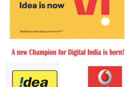 "Vodafone and Idea Brands are now ""Vi"""