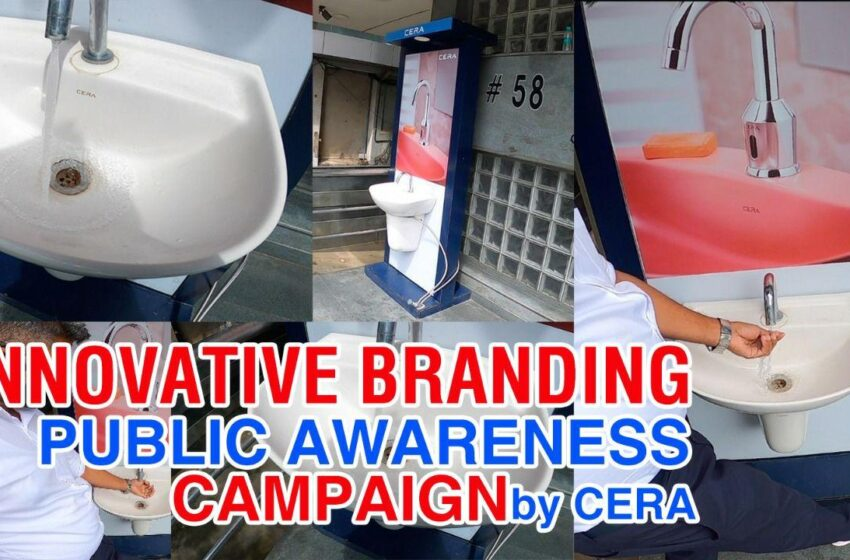 innovative branding campaign aimed at public hygiene by CERA|