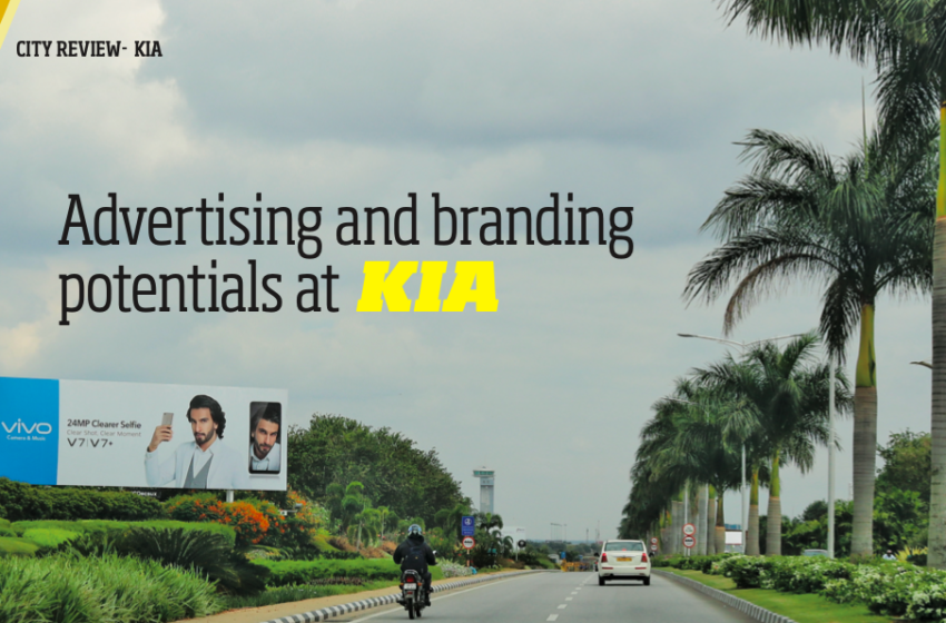 Advertising and branding potentials at Bangalore Airport