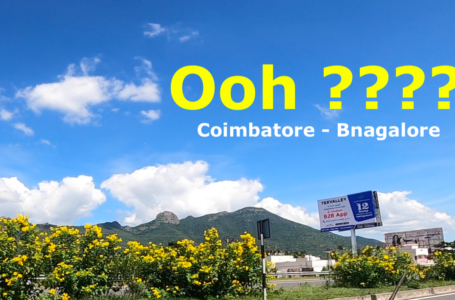 Coimbatore to Bangalore Road highway | outdoor news in india