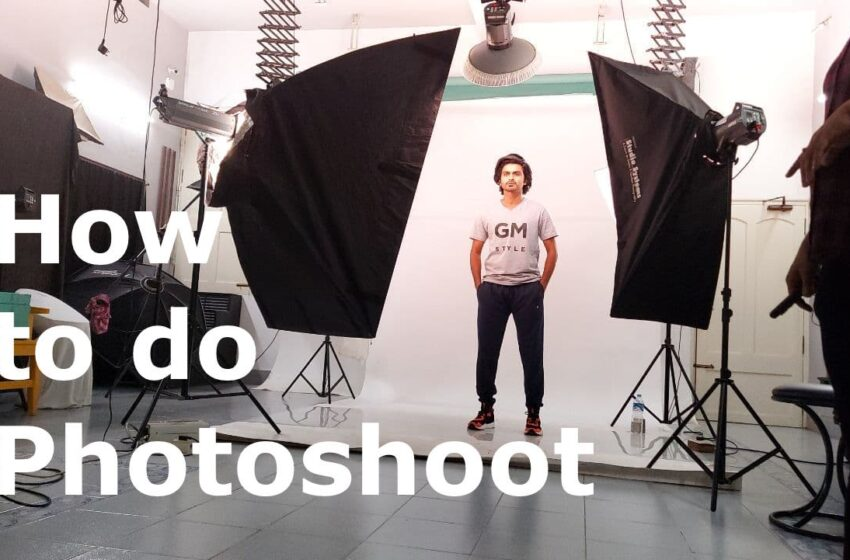 How to do a Photoshoot for the Branding
