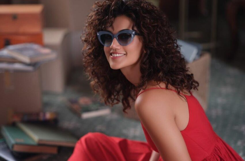Taapsee Pannu is the brand ambassador of Vogue Eyewear India