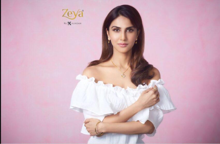 Vaani Kapoor becomes the brand ambassador for Zeya By Kundan