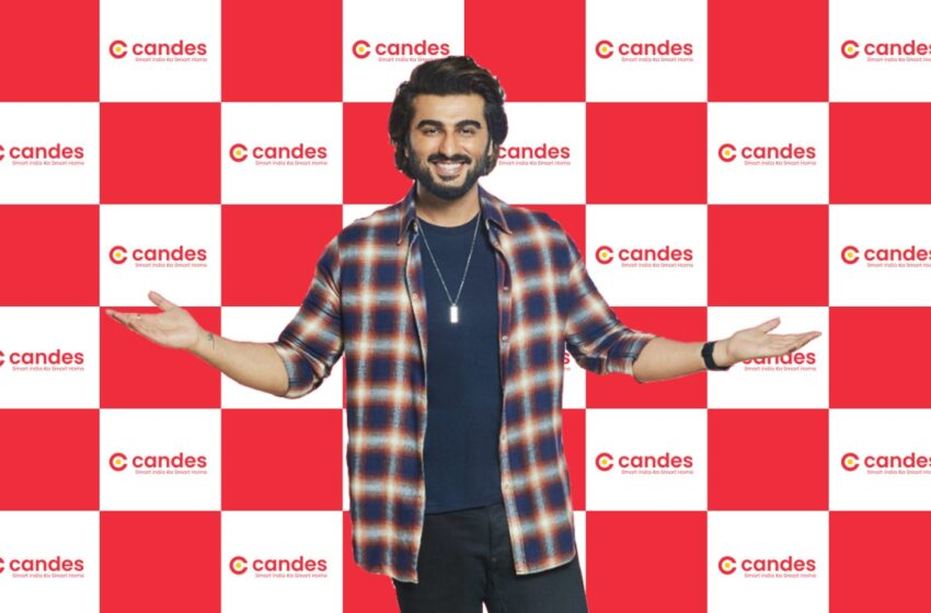 Arjun Kapoor named as the brand ambassador for Candes