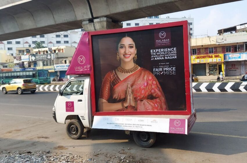 The increasing popularity of mobile van branding and roadshows
