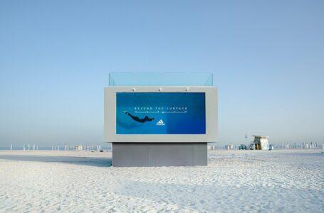 Adidas creates world's first ever 'Liquid Billboard'